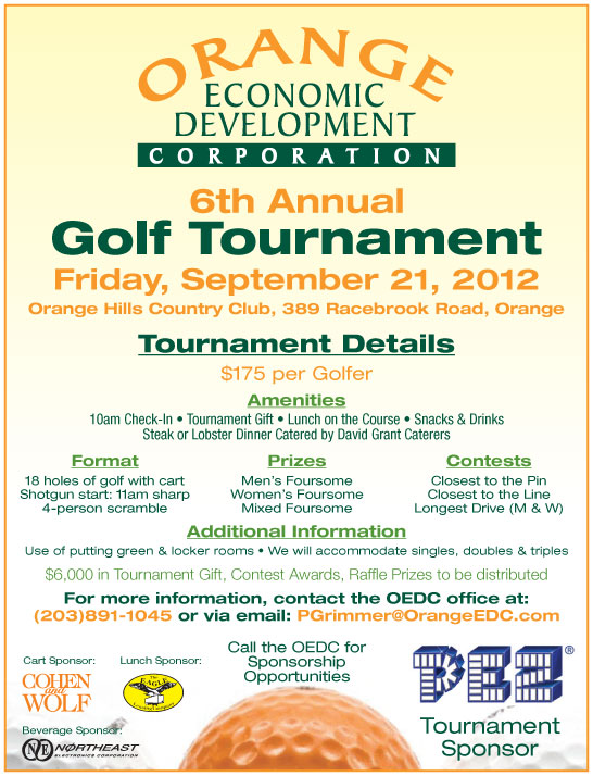 6th Annual OEDC Golf Tournament